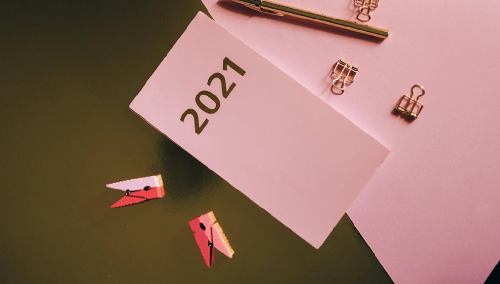Calendar for the year 2021